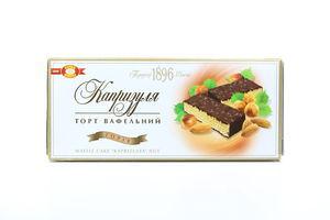 Торт ХБФ вафельний Капризуля горіх 270г х10