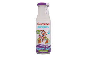 Йогурт 3% безлактозний для дітей від 8міс Яготинське для дiтей бут 200г