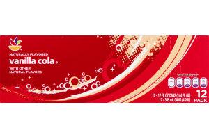Ahold Vanilla Cola Soda - 12 CT