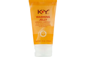 KY Personal Lubricant Warming Jelly