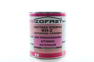 МАСТИКА КЛЕЮЧА КАУЧУК. КН-2 IZOFAST 3 КГ