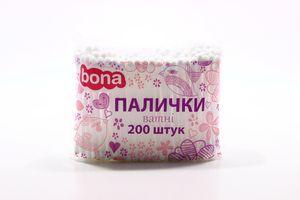 Палочки ватные Bona 200шт