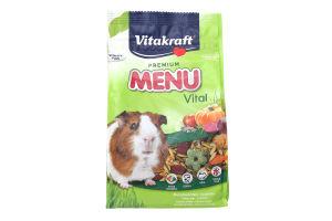 Корм Vitakraft Menu Vital для морської свинки 400г х6.