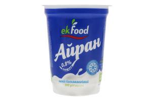 Напиток кисломолочный 0.8% Айран Ekfood ст 200г