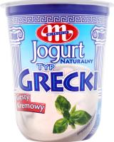 Йогурт Mlekovita Грецький ст 9% 400г Польща х12
