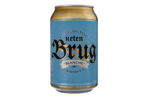 Пиво спеціальне 0.33л 4.8% пастеризоване Blanche Elegant Keten Brug з/б