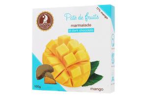 Мармелад в шоколаді Манго Pate de fruits Shoud'e к/у 100г
