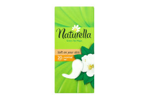 Прокладки green tea normal Naturella 20шт