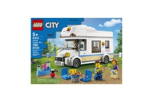 Конструктор для детей от 5лет №60283 Holiday Camper Van City Lego 1шт
