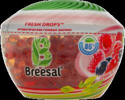 Шарики ароматические гелевые Сочность ягод Fresh Drops Breesal 215г