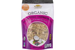 New England Naturals Organic Granola Berry Coconut
