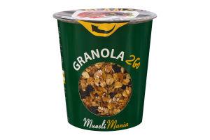 Сніданки сухі Гранола з ягодами та насінням Balance Granola 2Go Muesli Mania ст 70г