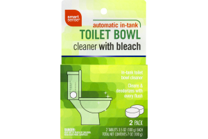 Smart Sense Automatic In-Tank Toilet Bowl Cleaner With Bleach