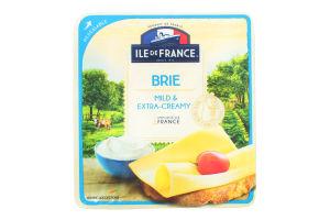 Сир напівтвердий Іль де Франс Брі