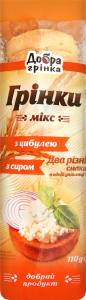 Грінки з цибулею з сиром Мікс Добра грінка м/у 110г