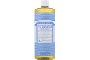 Dr. Bronner's 18-In-1 Hemp Baby Unscented Pure-Castile Soap