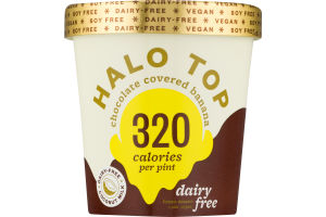 Halo Top Dairy-Free Frozen Dessert Chocolate Covered Banana