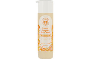 The Honest Co. Honest Shampoo + Body Wash Sweet Orange Vanilla