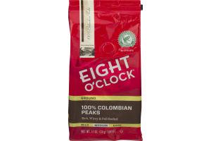 Eight O' Clock Ground 100% Colombian Peaks Medium