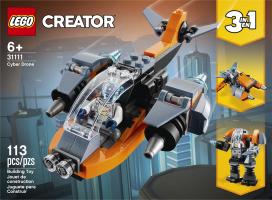 Конструктор для дітей від 6років №31111 Cyber Drone Creator Lego 1шт