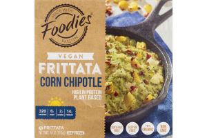 Foodies Vegan Frittata Corn Chipotle