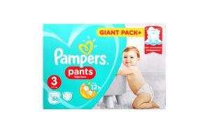 Подгузники-трусики Pampers Pants Midi 6-11кг