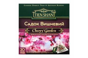 Чай черный и зеленый Тянь Шань Садок вишневый