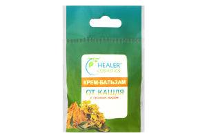 Крем-бальзам от кашля с гусиным жиром Healer Cosmetics 10г