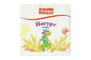 Йогурт 1% Злаки Фанні м/у 400г
