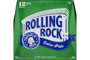 Rolling Rock Extra Pale Premium Beer - 12 PK