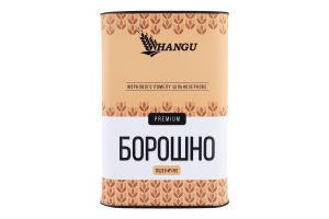 Мука пшеничная цельнозерновая жернового помола Premium Hangu тубус 500г