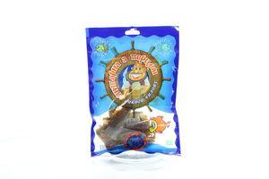 Янтарная солено-сушеный с перцем кусочки б/ш Золота рибка м/у 60г