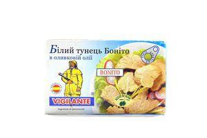 Тунець Bonito білий в оливковій олії 115г х24