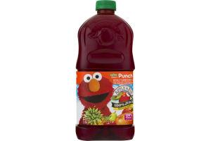 Apple & Eve Sesame Street Elmo's Punch No Sugar Added 100% Juice