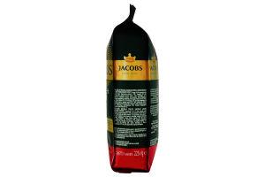 Кофе жареный молотый Monarch Intense Jacobs м/у 225г