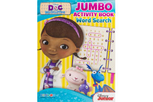 Bendon Disney Doc McStuffins Jumbo Activity Book Word Search