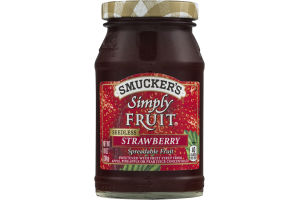 Smucker's Simply Fruit Spreadable Fruit Seedless Strawberry
