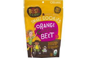 Bitsy's Brainfood Alphabet Shapes Smart Cookies Orange Chocolate Beet