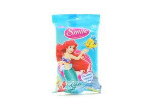 Салфетки Disney Принцессы Smile15шт