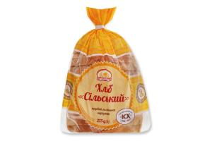 Хліб подовий половинка в нарізці Сільський Формула смаку м/у 275г