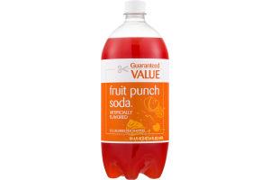 Guaranteed Value Fruit Punch Soda