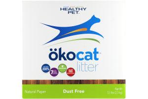 okocat Litter Natural Paper Dust Free