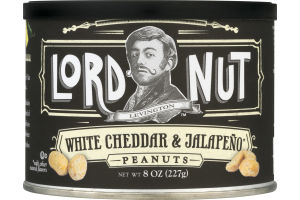 Lord Nut Peanuts White Cheddar & Jalapeno