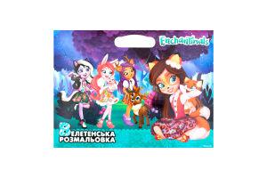Книга Огромная раскраска Enchantimals Mattel Egmont 1шт