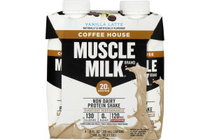 Muscle Milk Protein Shake Coffee House Vanilla Latte