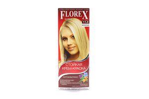 Крем-краска для волос Белокурый №11.0 Florex Super