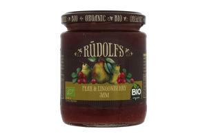 Джем Rudolfs грушево-брусничный органический