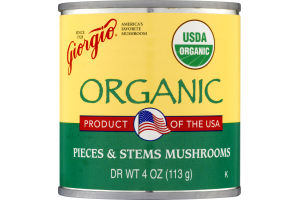 Giorgio Organic Pieces & Stems Mushrooms