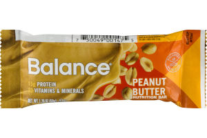 Balance Nutrition Bar 15g Protein Peanut Butter