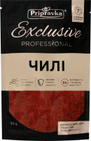 Перець чилі подрібнений Exclusive Professional Pripravka д/п 50г